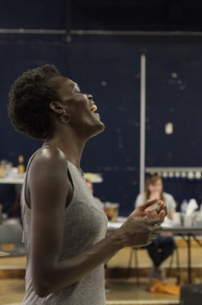 Sheila Atim (Marianne Laine) in Girl from the North Country at The Old Vic. Photo by Manuel Harlan (1)