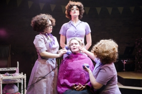 Francesca Pim, Ashlee Young, Sophie Millett, and Maeve Byrne in Salad Days, Union Theatre (photo Scott Rylander)_small